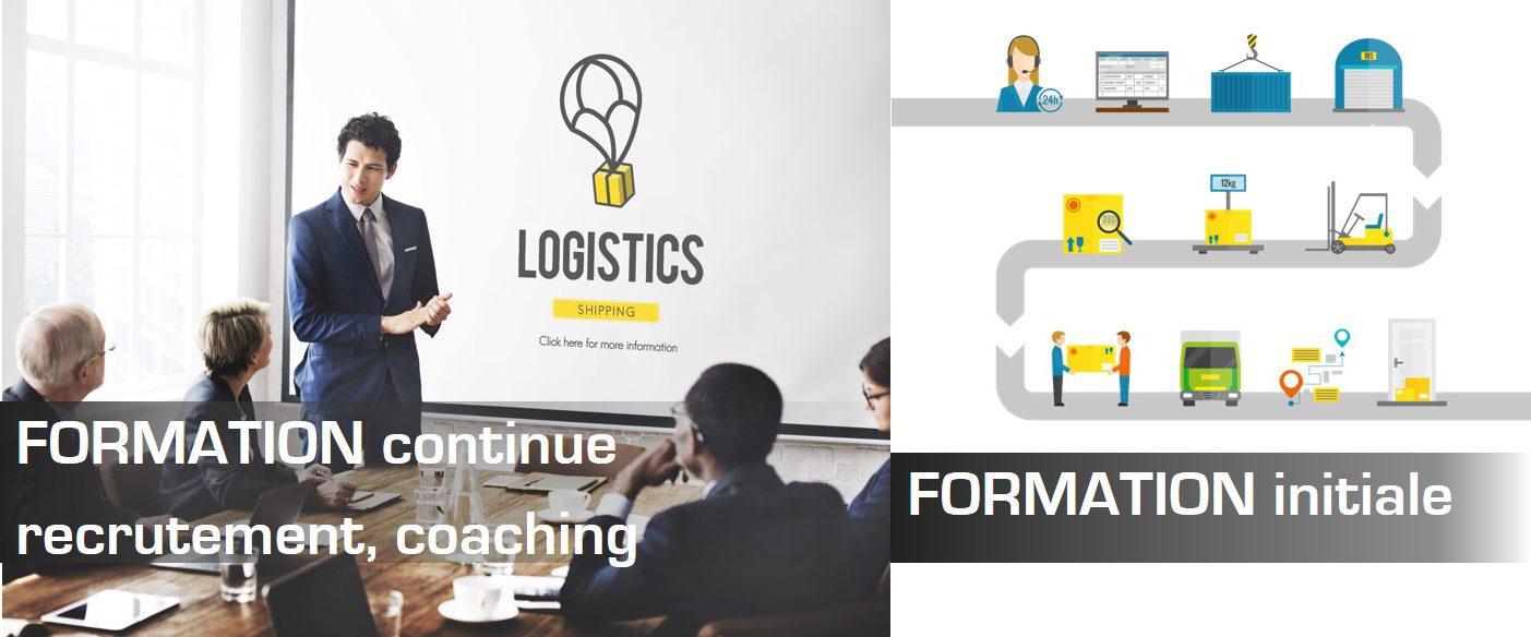 FORMATION continue, recrutement, coaching, FORMATION initiale en Transport et en Logistique
