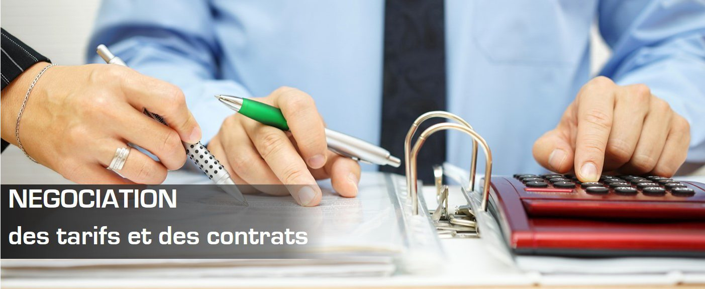 NÉGOCIATION des tarifs et des contrats de Transport et de Logistique