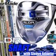 Do you want more from your new SLDR from TaylorMade? You can create your own custom shaft with our Custom Built shaft page at Fairwaygolfusa.com. *Only House of Forged Shafts will be assembled at Fairway Golf. Here is the LINK to our Custom SLDR Shaft builder – http://www.fairwaygolfusa.com/custom.php?productId=TAY_CS_13000105&cPath=400_406 If you have any questions, please email us at cs@fairwaygolfusa.com or call us at 858-268-1702 Ext.105.