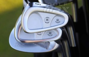 Jack Nicklaus and Miura Irons