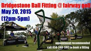 Bridgestone Ball Fitting