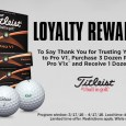 Are you a fan of the Pro V1 and/or Pro V1x? Would you like some personalized balls for yourself, your company or an event you're hosting? The annual Titleist Pro V1 loyalty program is under way this season and you should take advantage of the opportunity. Titleist will give you one extra dozen of personalized Pro V1 or Pro V1x golf balls for each 3 dozen you order. There are 2 options for personalization that you can choose from (listed below) to remember the outing or just advertising or identification purposes. Get yours now! Please email us at support@fairwaygolf.com with […]