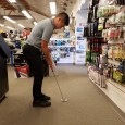 So you haven't been hitting your putts on line recently… I HAVE A SOLUTION. A SHORTER PUTTER! A shorter putter ultimately leads to more control for any player. If you stand up straight, the butt-end of your putter should be just at the wrist. Not only will a shorter putter allow you to dictate the head path a lot easier, but it will bring your eyes closer to the ball; this will help you see the line a lot better. You want your eyes to be no more than one inch behind the target line. According to PGA.com, the average […]
