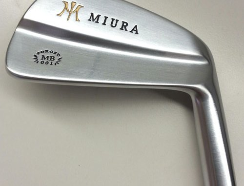 miura MB001 blade irons