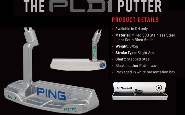 PING PLD1 PUTTER