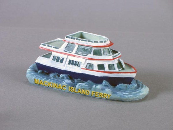 Ferry Boat Polyresin Figurines   3-12789-FB