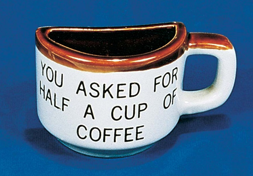 3-5163 - Half Cup of Coffee Mug - Fairway Manufacturing Company