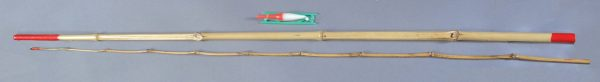 2 piece Bamboo Fishing Pole Set   6-2