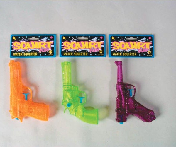 "6"" Water Guns - Assorted   7-178"