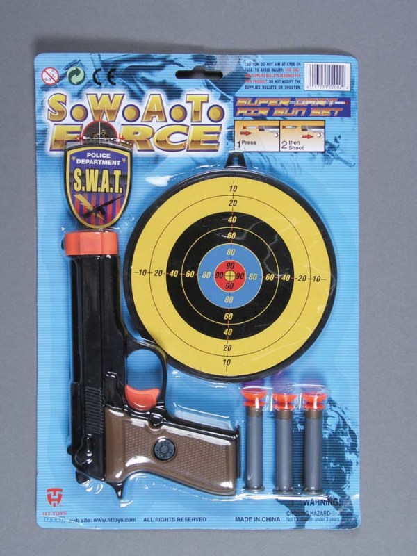 SWAT Force Dart Gun Set   7-2002