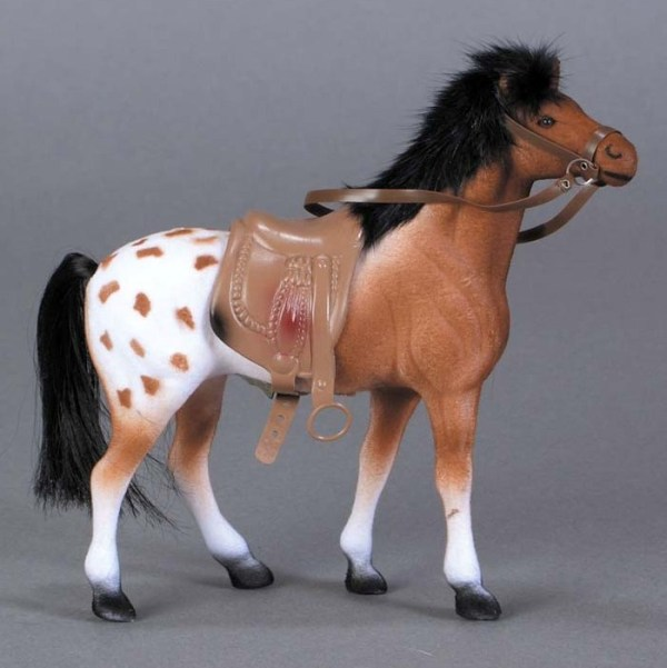 Flocked Standing Appaloosa   8-128