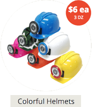 COLOR MINER HELMETS