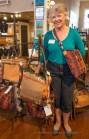 """Your bag for the journey,"" says textile artist Linda Ballard."
