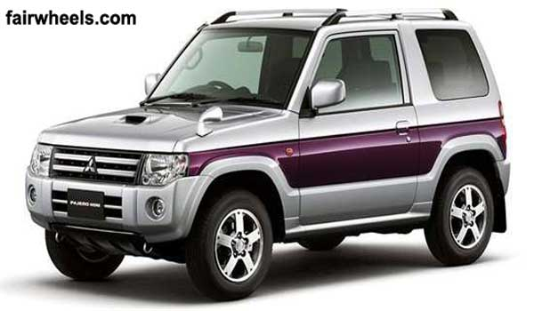 mitsubishi pajero mini xr limited vr 2r 2012 price