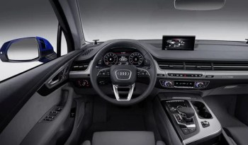 Audi Q7 3.0 TFSI S-Line 2016 Specifications & overview full