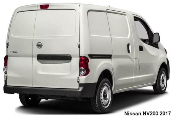 Nissan-NV200-2017-Back-view