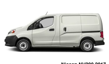Nissan NV200 I4 2017 full