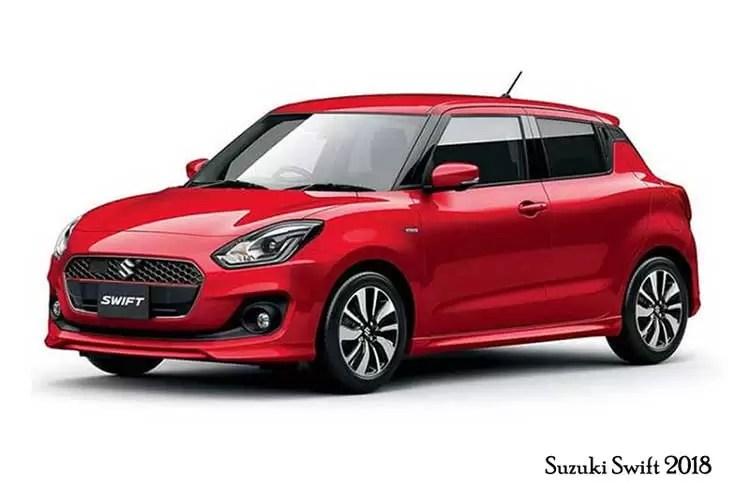 4th Generation Suzuki Swift 2018 Price and Features - fairwheels