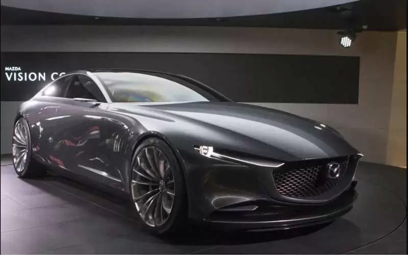 Mazda Vision Coupe Concept Revelation At Tokyo Motors Show 2017
