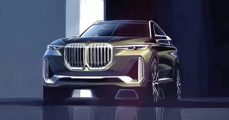 Bmw X7 I Performance Concept Design Photo La Auto Show 2017 Fairwheels