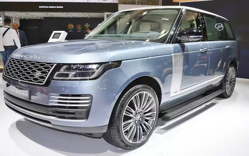 Range Rover Facelift Revelation At Dubai Motor Show - Car show dubai