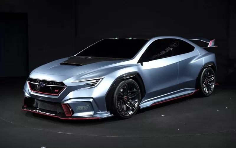 Subaru Viziv Sti Concept Revelation At 2018 Tokyo Auto Saloon