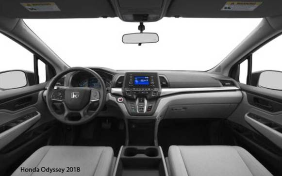 Honda-Odyssey-2018-steering-and-transmission