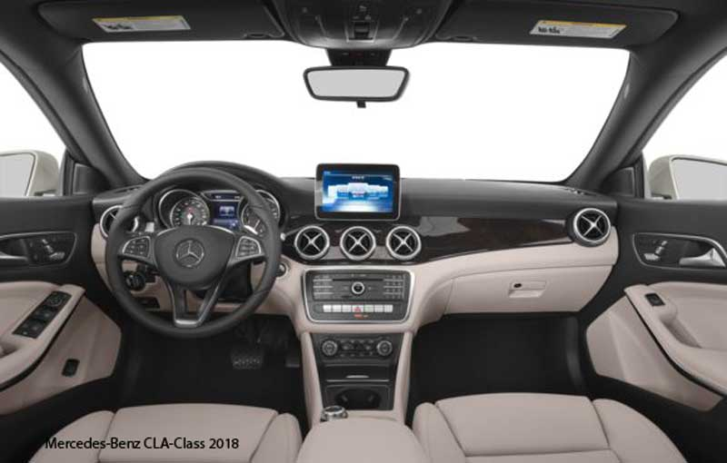 Mercedes benz cla class 250 coupe 2018 price specification for Mercedes benz cla 2018 price