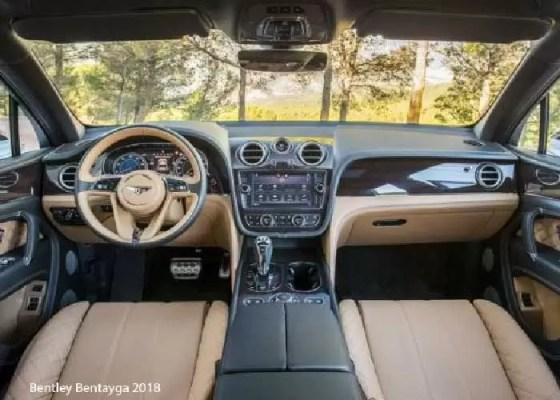 Bentley-Bentayga-2018-steering-and-transmission