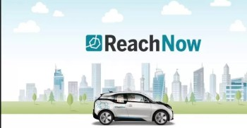 ReachNow Ride Sharing and Rental Service by BMW