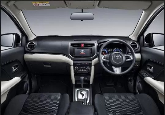 IMC to Bring Toyota Rush in Pakistan - interior view