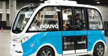 Navya is leading the way for self driving vehicles