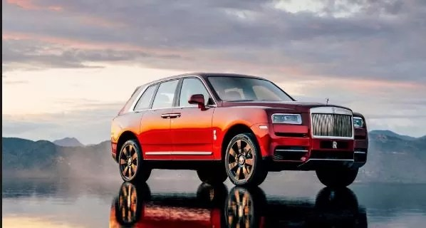 Rolls Royce Cullinan SUV overwhelming Demand