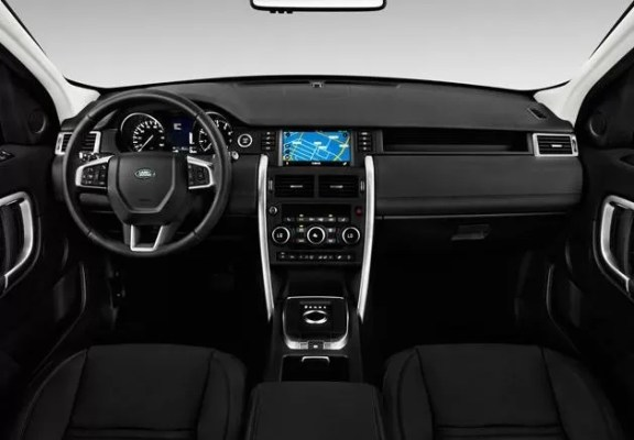 Land Rover Discovery 2018 steering and transmission