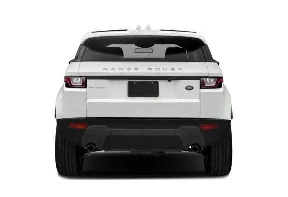 Land Rover Range Rover Evoque 2018 Back Image