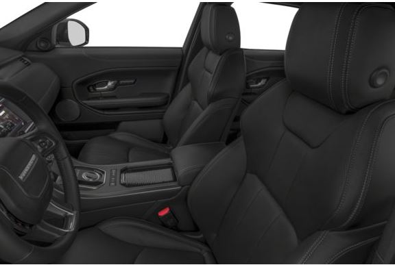 Land Rover Range Rover Evoque 2018 Front Seats