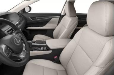 Lexus GS 2018 front seats