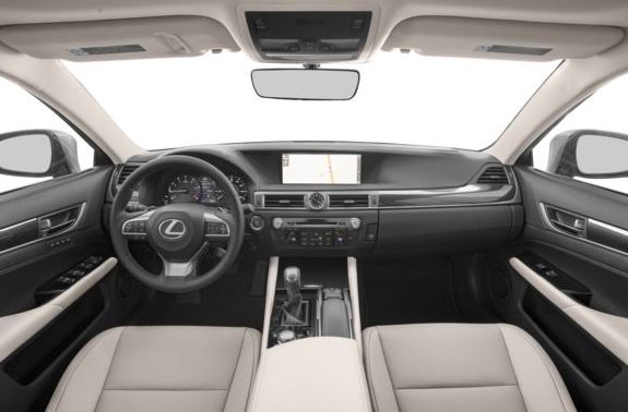Lexus GS 2018 steering and transmission