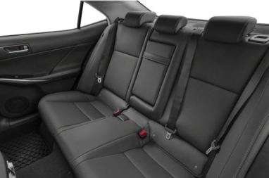 Lexus IS 2018 Back Seats