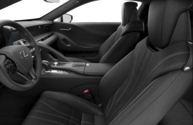 Lexus LC 2018 Front Seats