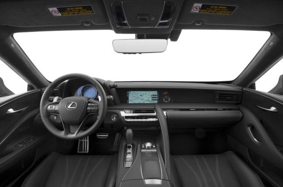Lexus LC 2018 Steering And Transmission