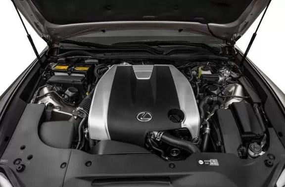 Lexus RC 2018 Engine Image