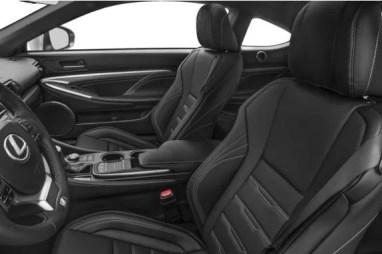 Lexus RC 2018 Front Seats