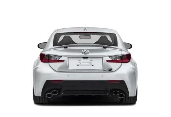 Lexus RC F Back Image
