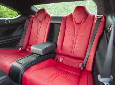 Lexus RC F Back Seats