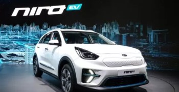 Niro Crossover of KIA is now an Electric car by 2018