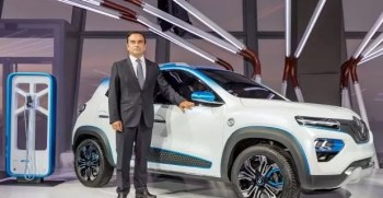 Renault Displayed New KZE all Electric crossover ahead of paris motor show 2018