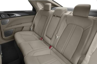 Lincoln MKZ 2018 Back Seats