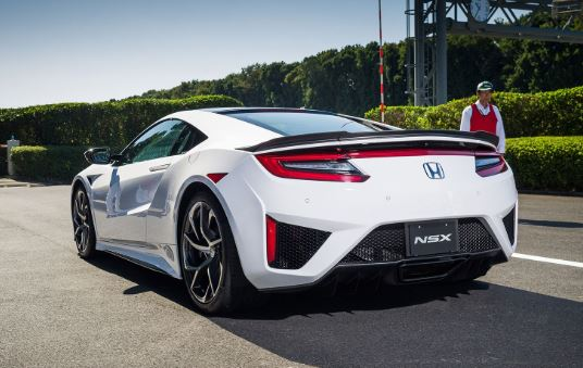 Honda NSX that comes with Hybrid Technology