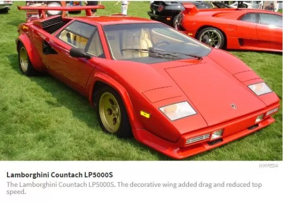 Recreation Of The Lamborghini Countach As A Modern Super Car 2018